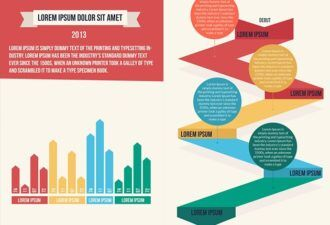 Delivery Infographics Infographics vector