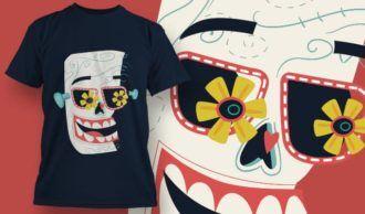 T-Shirt Design 1387 T-shirt Designs and Templates vector