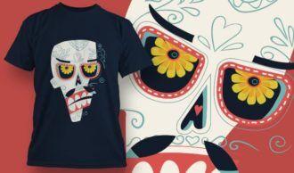 T-Shirt Design 1388 T-shirt Designs and Templates vector