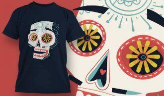 T-Shirt Design 1389 T-shirt Designs and Templates vector