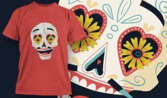 T-Shirt Design 1390 T-shirt Designs and Templates vector