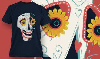 T-Shirt Design 1391 T-shirt Designs and Templates vector