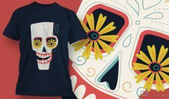 T-Shirt Design 1395 T-shirt Designs and Templates vector