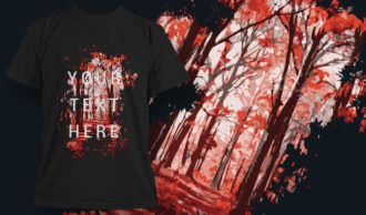 T-Shirt Design 1417 T-shirt Designs and Templates vector