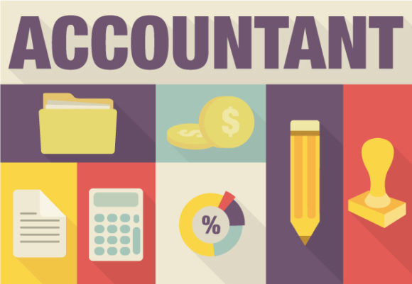 Accountant Vector Vector packs note