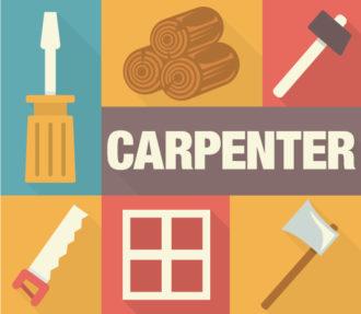Carpenter Vector Vector packs axe