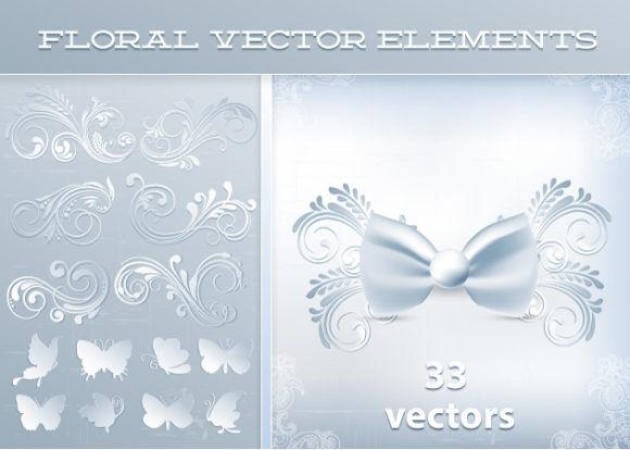 Closed Vector Set 2 Vector packs nature