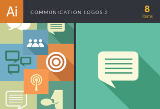 Communication Logos Vector Set 2 Vector packs people
