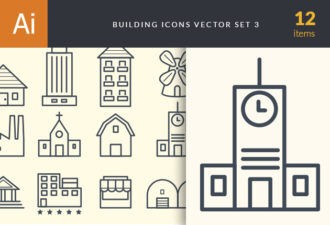 House Icons Vector Set 3 Vector packs doodle