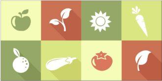 Organic Logos Vector 2 Vector packs spring