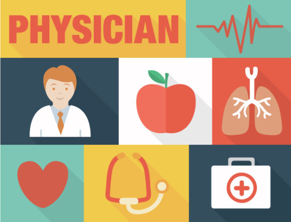 Physician Vector Vector packs people