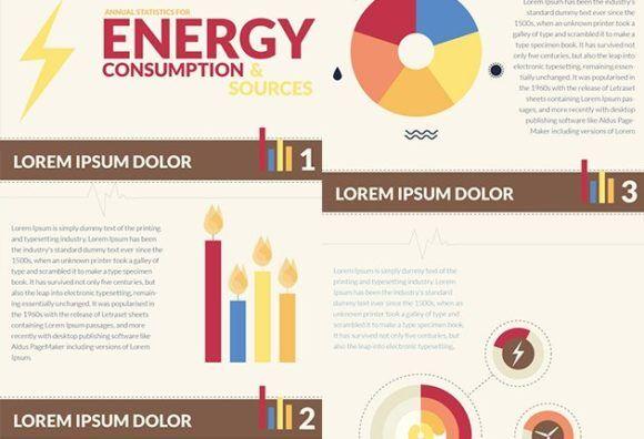 Energy Infographics Infographics vector