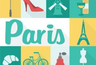 Paris Vector Vector packs LOVE