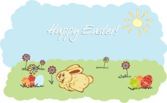 happy bunny  vector illustration Vector Illustrations vector