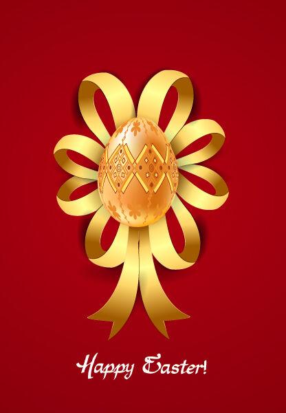 ribbon with egg vector illustration Vector Illustrations vector