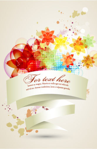 vector colorful abstract banner Vector Illustrations vector