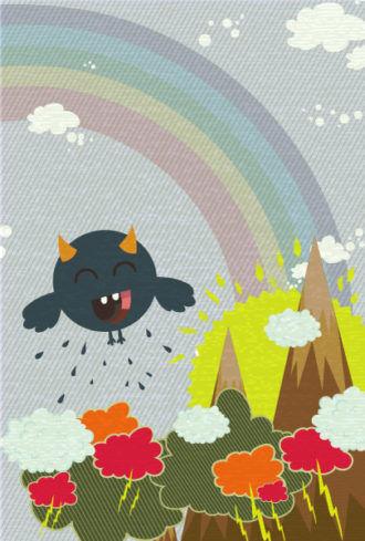 funny background vector illustration Vector Illustrations old