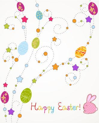 eggs with stars vector illustration Vector Illustrations star