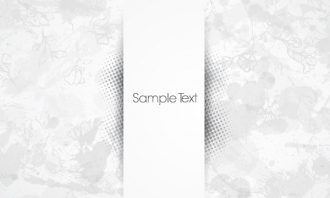 banner with halftone vector illustration Vector Illustrations floral