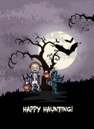 vector halloween background Vector Illustrations vector