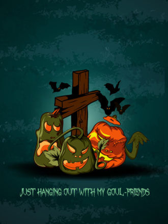 vector halloween background with cross Vector Illustrations vector