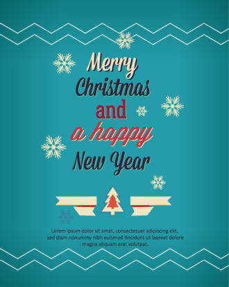 Happy New Year  Vector illustration Vector Illustrations old