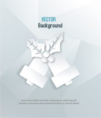 3D abstract vector illustration with christmas bells Vector Illustrations urban
