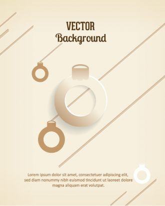 3D abstract vector illustration with christmas globe and decorations Vector Illustrations urban