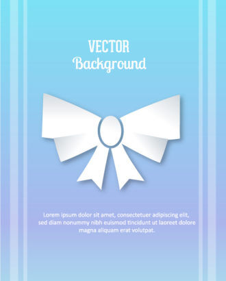 3D abstract vector illustration with ribbon Vector Illustrations urban