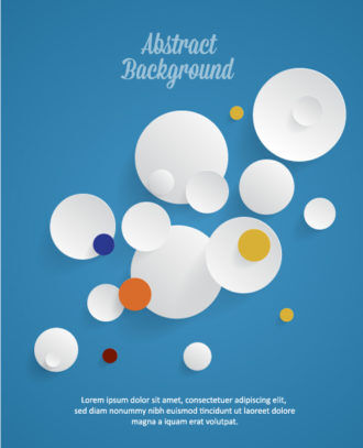 3D abstract vector illustration with abstract elements Vector Illustrations urban