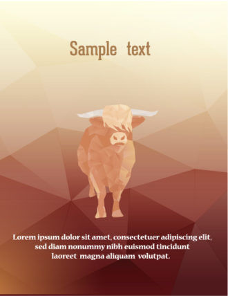 Vector Illustration with abstract background with animals Vector Illustrations vector