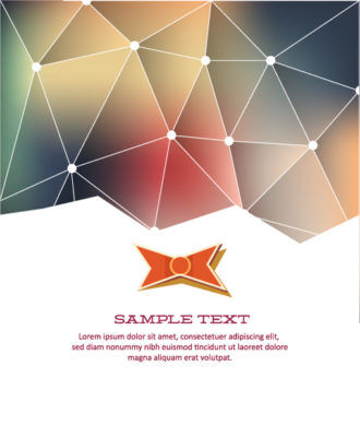 Vector Illustration with abstract background with bow Vector Illustrations vector