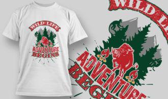 Designious-tshirt-design 1533 T-shirt Designs and Templates vector