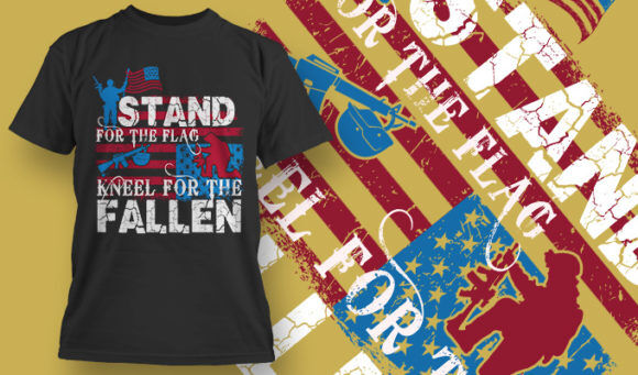 designious-tshirt-design-1510 T-shirt Designs and Templates t-shirt, vector, 4th of july, veterans, thank you, america, USA