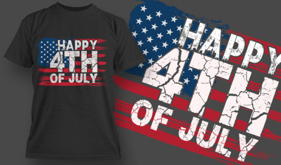 designious-tshirt-design-1512 T-shirt Designs and Templates t-shirt, vector, 4th of july, veterans, thank you, america, USA