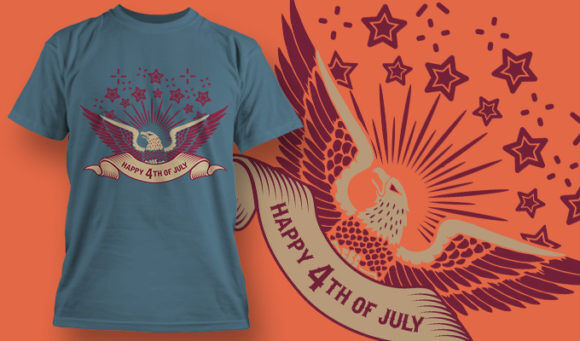 designious-tshirt-design-1515 T-shirt Designs and Templates t-shirt, vector, 4th of july, veterans, thank you, america, USA