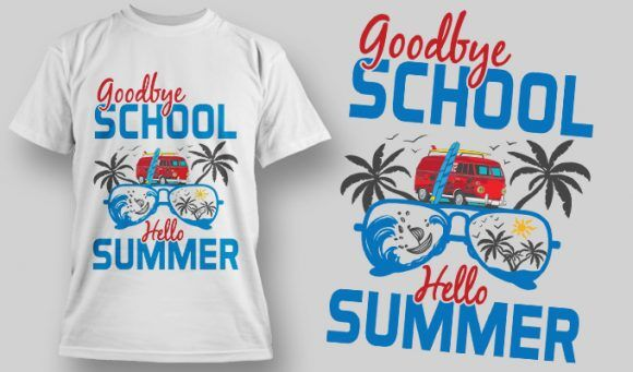 Designious-tshirt-design 1599 T-shirt Designs and Templates vacation
