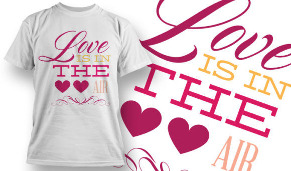 Valentines Day T-Shirt Design 12 T-shirt Designs and Templates vector