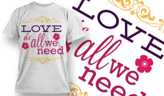 Valentines Day T-Shirt Design 15 T-shirt Designs and Templates vector