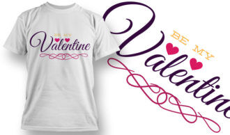 Valentines Day T-Shirt Design 26 T-shirt Designs and Templates vector