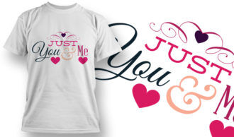 Valentines Day T-Shirt Design 29 T-shirt Designs and Templates vector