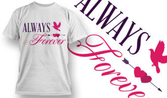 Valentines Day T-Shirt Design 32 T-shirt Designs and Templates vector