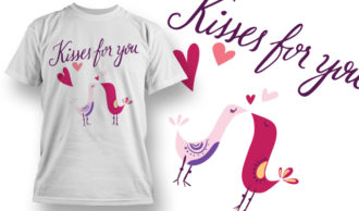 Valentines Day T-Shirt Design 52 T-shirt Designs and Templates vector