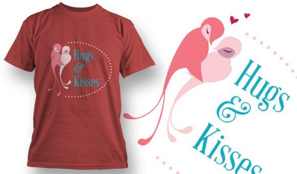 Valentines Day T-Shirt Design 55 T-shirt Designs and Templates vector
