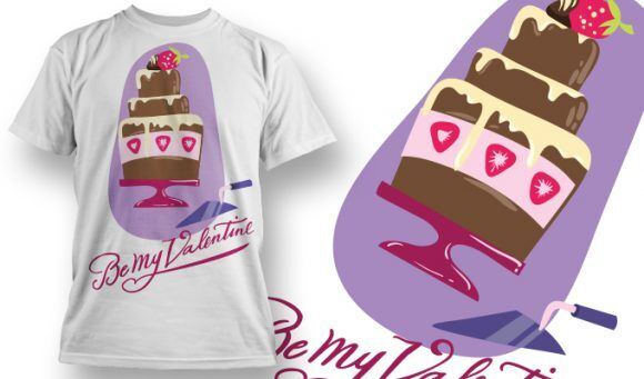 Valentines Day T-Shirt Design 63 T-shirt Designs and Templates vector