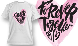 Valentines Day T-Shirt Design 64 T-shirt Designs and Templates vector