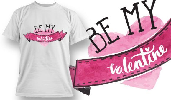 Valentines Day T-Shirt Design 71 T-shirt Designs and Templates vector