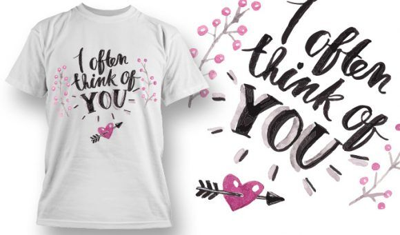 Valentines Day T-Shirt Design 76 T-shirt Designs and Templates vector