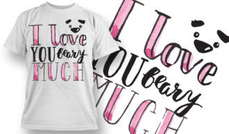 Valentines Day T-Shirt Design 77 T-shirt Designs and Templates vector