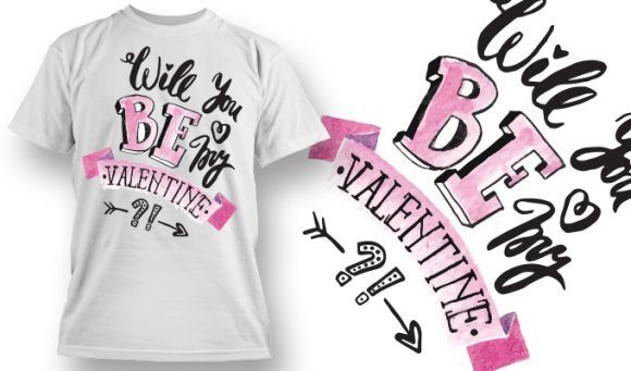 Valentines Day T-Shirt Design 80 T-shirt Designs and Templates vector